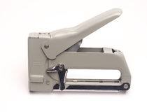 Staple gun  heavy duty tool Royalty Free Stock Image