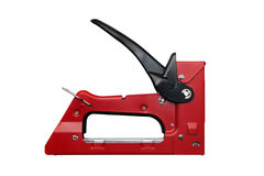 Staple gun isolated Royalty Free Stock Photos