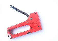 Staple gun Royalty Free Stock Photo