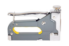Staple gun with yellow grip Stock Photography