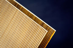 Staple. For industry carton wood-case Royalty Free Stock Images