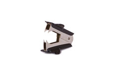 Staple remover. A staple remover  on white background Royalty Free Stock Photo