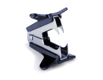 Staple remover. On a white background Royalty Free Stock Photos