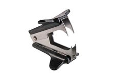 Staple remover. Isolated on white Royalty Free Stock Image