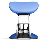 Staple remover back view. Isollated on white background. 3d render image Stock Photo