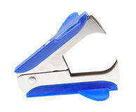 Staple remover, office supplies. On a white background Stock Images