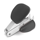 Staple remover top view. Isollated on white background. 3d render image Stock Images