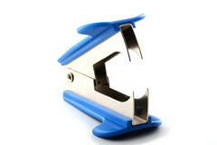 Staple remover on white background Royalty Free Stock Photo