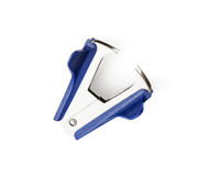 Staple remover on the white background. Office supplies Stock Photos