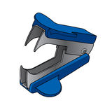 Staple removers vector Royalty Free Stock Image