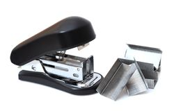 Staple and stapler Stock Photography
