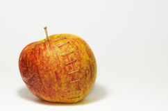 Stapled apple Stock Image
