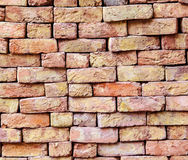 Stapled bricks give a harmonic pattern Royalty Free Stock Image