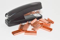Stapler συνδετήρας Στοκ εικόνα με δικαίωμα ελεύθερης χρήσης