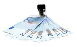 stapler χρημάτων Στοκ Εικόνες