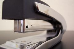 Stapler. Close up of ergonomic stapler royalty free stock photos
