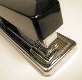 Stapler. Close-up of a black stapler Royalty Free Stock Images