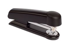 Stapler. Against white background. Isolated office equipment Royalty Free Stock Images