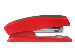 Stapler. The adaptation for a paper fastening on a white background is isolated Royalty Free Stock Photo
