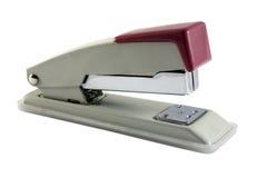 Stapler. Isolated old stapler on the white background Stock Photo
