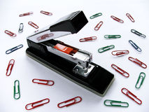 ι stapler Στοκ Φωτογραφίες