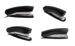 Stapler. Black stapler on the white Royalty Free Stock Photos