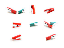 Stapler. The stapler with beautiful colors Royalty Free Stock Images