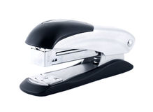 Stapler. Isolated on a white background Royalty Free Stock Photo