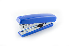 Stapler. Assistance bind blue office Stock Images