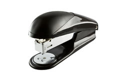 Stapler with face Royalty Free Stock Photography
