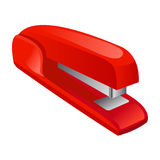 Stapler isolated illustration Royalty Free Stock Image