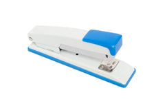 Stapler. Isolated on white background royalty free stock images