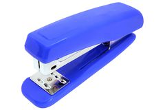 Stapler isolated on a white background.  stock image