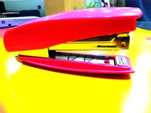 Stapler. A stapler machine is key component in Office stock photo