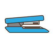Stapler office supply icon Royalty Free Stock Photos