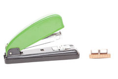 Stapler over white background Stock Images