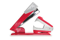 Stapler and Staple Remover. On White Background Royalty Free Stock Photography