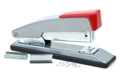 Stapler and staples Royalty Free Stock Photo