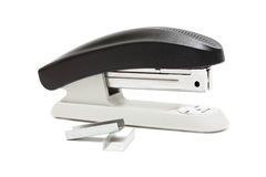 Stapler and staples Royalty Free Stock Photos