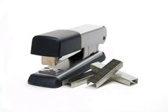 Stapler with staples Royalty Free Stock Image