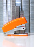 Stapler and staples Stock Image