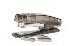 Stapler and staples Stock Photos