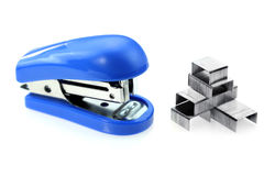 Stapler and staples Royalty Free Stock Image