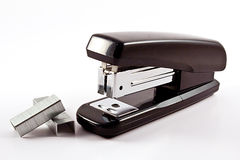 Stapler and staples Stock Photography