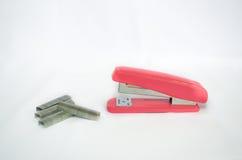 Stapler with staples Stock Photos