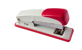 Stapler on the white background Royalty Free Stock Images