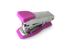 Stapler. On white with soft shadow royalty free stock photos