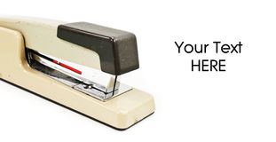 Staplers on White Royalty Free Stock Image