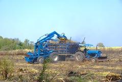 Staplerstock für Landwirt in Thailand stockfoto