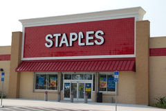 Staples Royalty Free Stock Photography